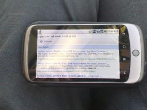 Weboldal készítés mobilra